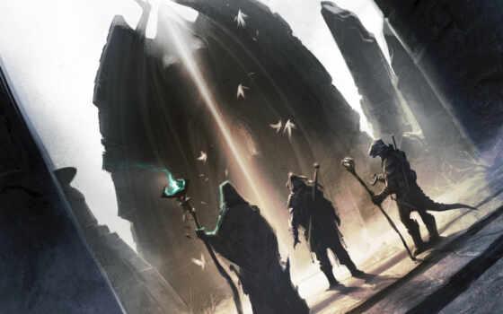 маг, ящер, воин, скайрим, scrolls, elder, skyrim,