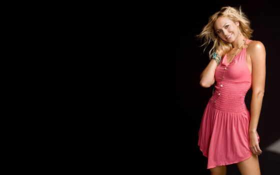платье, blonde, девушка