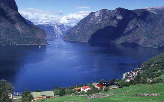 windows, норвегия, aurlandsfjord