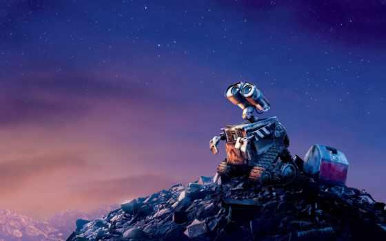 валли, стена, мусор, danbo, картонный, нояб, love, высоком, красивые, robot, лом,