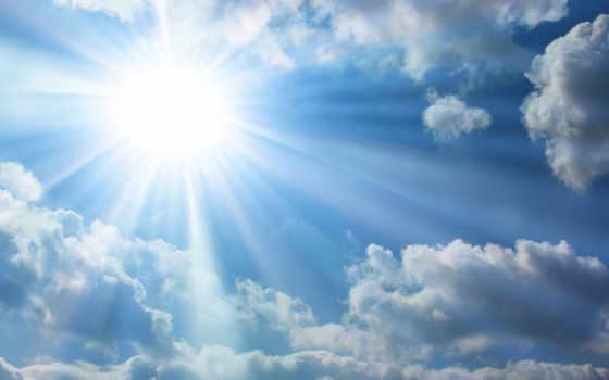 cielo, nubes, fondo, para, usb, fotos, del, солнечный, vectores,