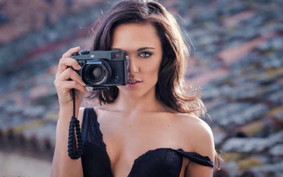 девушка, обнаженная, фотоаппарат, seksit, russian,