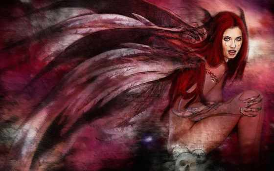 фэнтези, демон