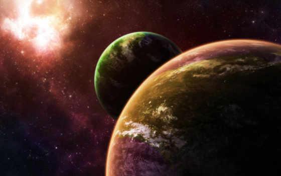планеты, звезды Фон № 24612 разрешение 1920x1200