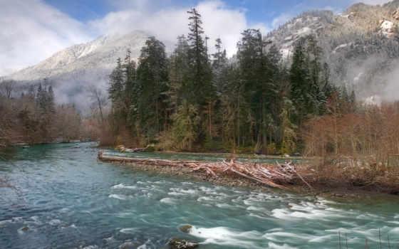 реки, красивый, картинок,