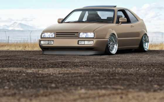 corrado, тюнинг, vw, volkswagen, mountains, deviantart, chrome, browne, изображение, евро,