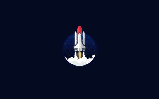 космос, spacespace, space nasa, shuttle, minimalist, launching,