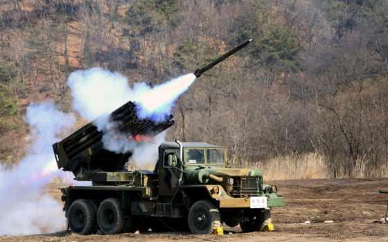 выстрел, ракета