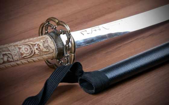 катана, меч, japanese, рукояткa, art, оружие,