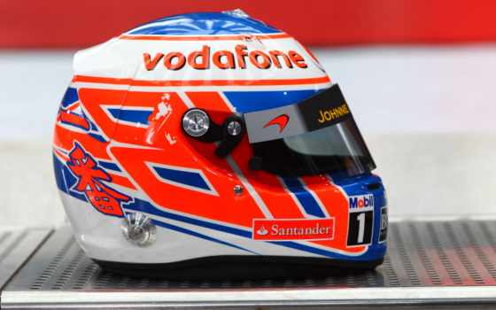 formula, шлем, кнопка, пилота, баттон, дженсон, vodafone,