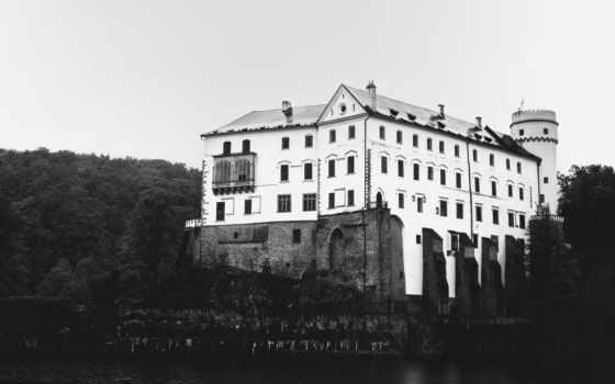 орлик, замок, чехии