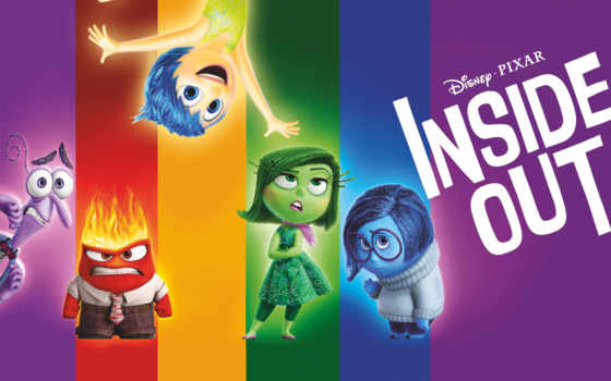 радость, inside, out, pixar, злость, puzzle, fear, эмоции, брезгливость, yellow,