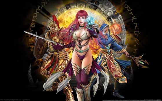 игры, фотообои, чародейка, panties, руны, магия, runes, game,