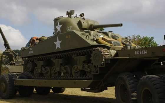 sherman, танк, world, tanks, средний, second, war,