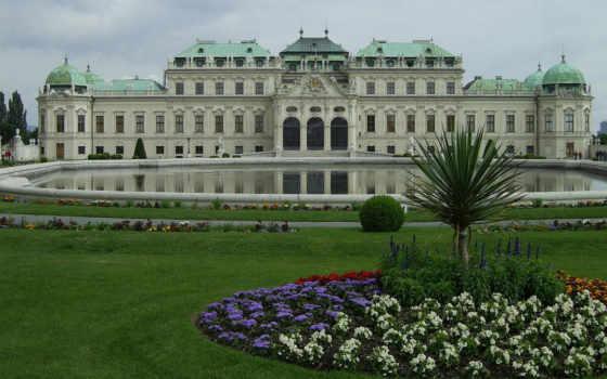 город, красивые, фотографий, costa, испания, vienna, belvedere, дорада,