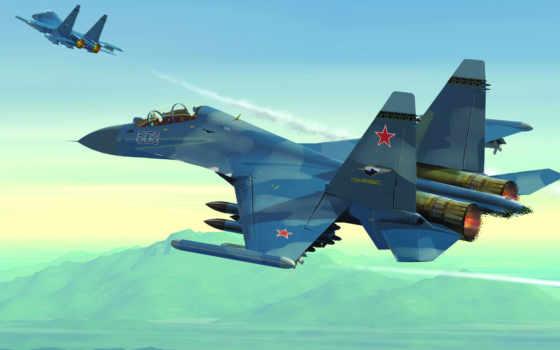 sou, самолёт, истребитель, russian, оставить, модернизированн, commercial, самолетов,