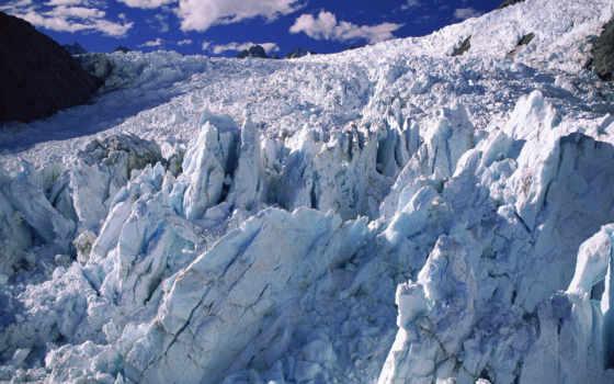 glacier, new