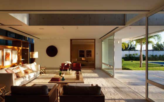 interiores, casas, янв, sala, modernas, casa, estar, una, más, como, para, moderna, metros,