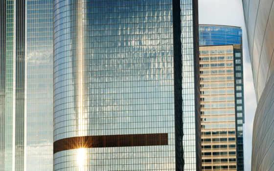 небоскрёб, здания, изображение