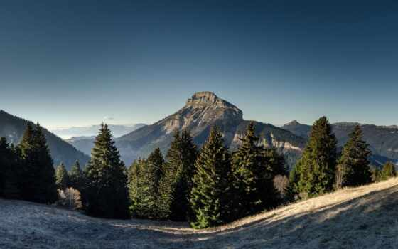 гора, склон, поле, добавить, станция, оригинал, твой, hill, лес