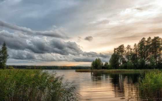 природа, природы, вк, озера,