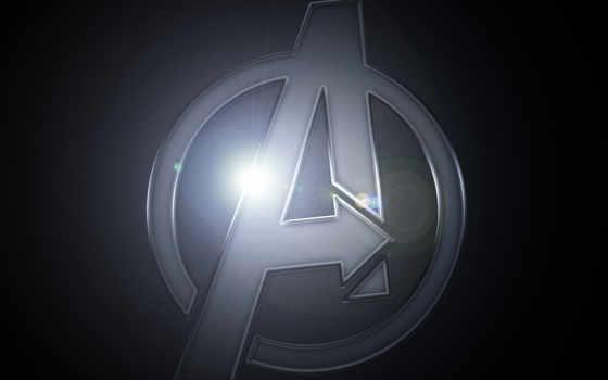 avengers, logo, desktop
