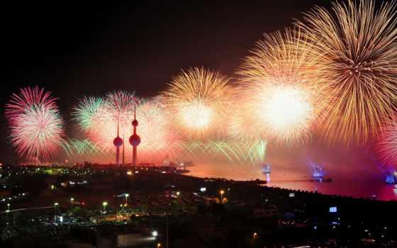 año, nuevo, cruceros, new, barco, ева,