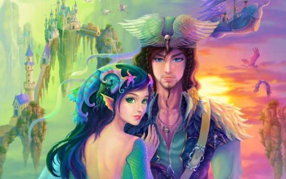 fantasy, lady