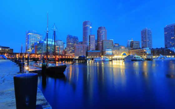 boston, гавань
