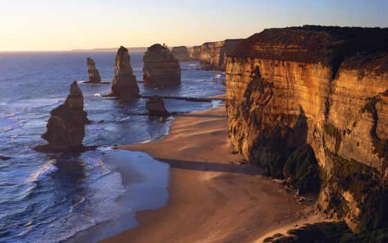 море, австралию, моря