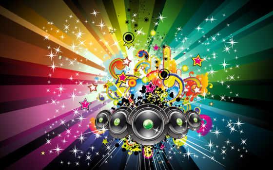 музыка, широкоформатные, музыку