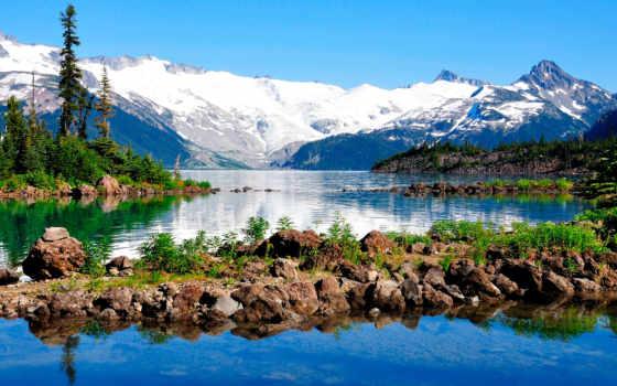 горы, landscape, природа