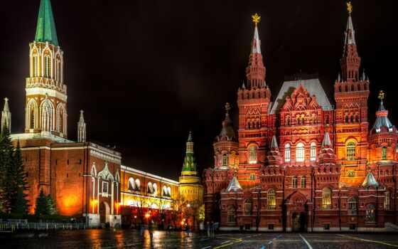 красная, россия, москва