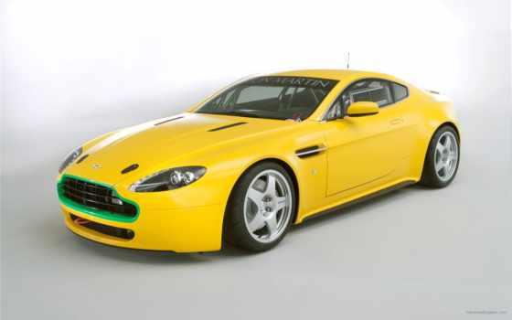 машина, martin, aston, машины, желтая, авто, автомобили, растровый, car,