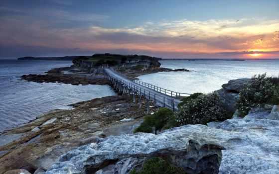 tapety, pulpit, природа, darmowe, wybrzeże, najlepsze, ocean, clouds,