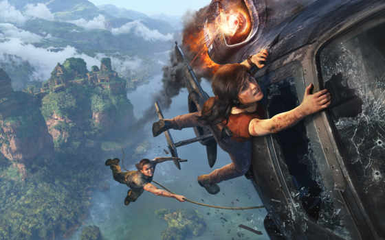 widescreen, video, high, Uncharted, The Lost Legacy,