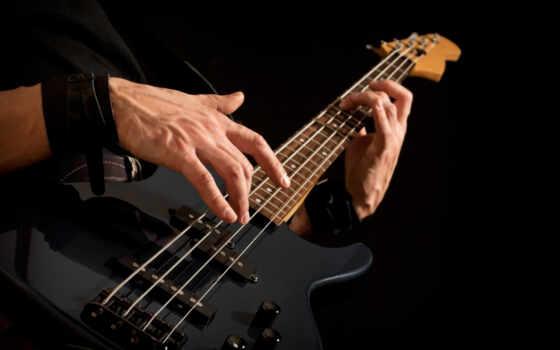 гитара, музыка, bass, string, инструмент, rock, музы, play