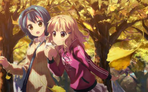 yuri, yuru, аниме