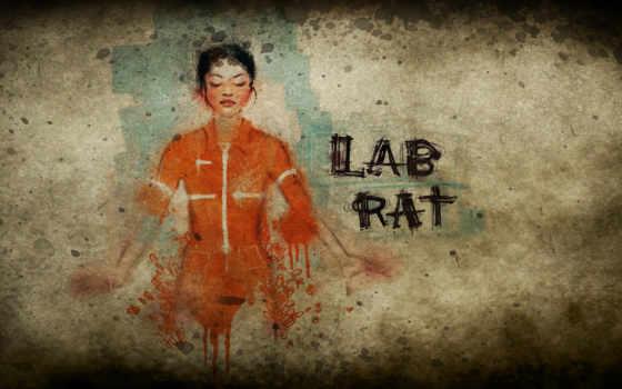 портал, lab, крыса