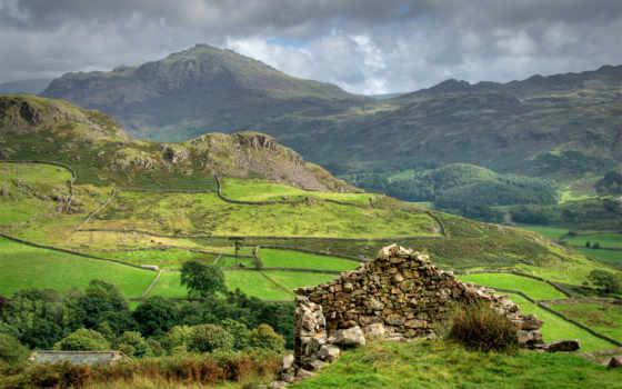 горы, шотландия, скалы