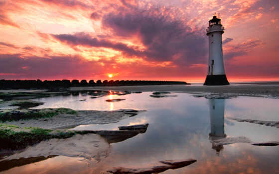 hotel, красивые, lighthouse