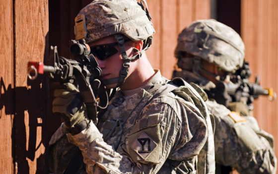 оружие, солдат, мужчины,