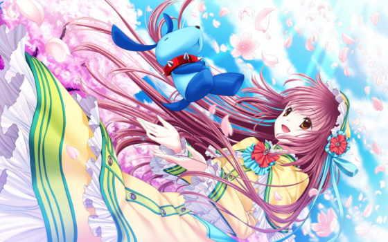 kobato, anime, картинка