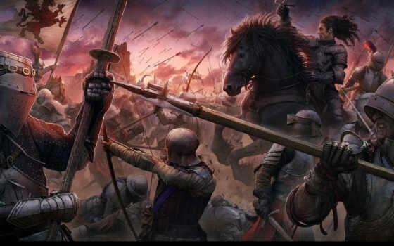 битва, kerem, закат, beyit, medieval, middle, стиль, ages, castle,