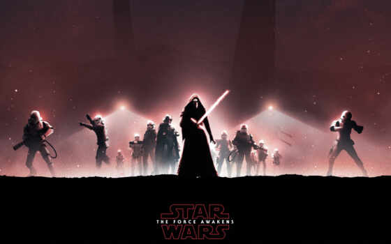 wars, star, episode, vii, сила, awakens, ren, kylo, войны,