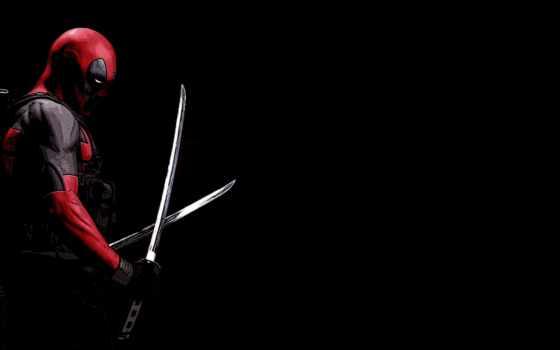 ,, красный, Дэдпул, супергерой, темнота, человек-паук, deadpool, фильм, комиксы,