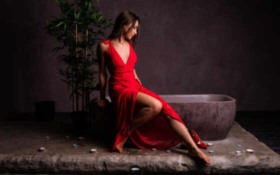 wallpapermaniac, shoot, женщина, краска, brunette, mulheres, халатик, сквозь, see, модель, modelo