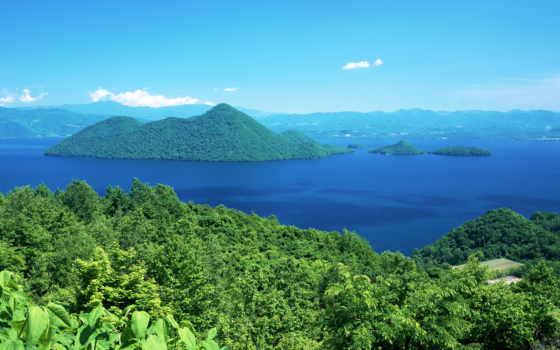 обои, острова, остров, красивая, природа, море, не