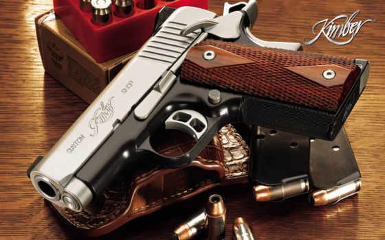kimber, pistol
