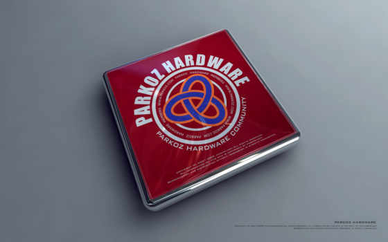 parkoz hardware community объёмное прямоугольное лого